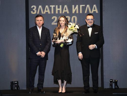 Мирослав Печев, Мириам де Унгрия и проф. Любомир Стойков (от ляво надясно)