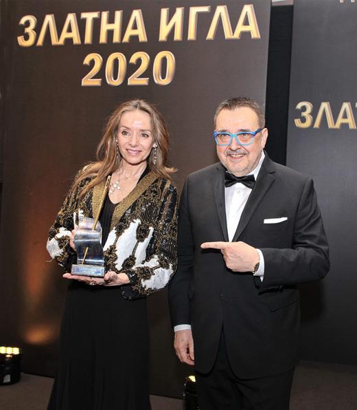 Мириам де Унгрия и проф. Любомир Стойков