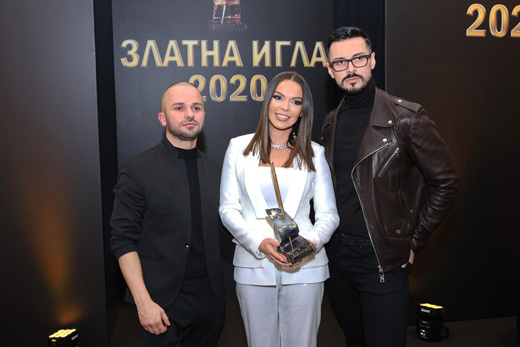 Създателите на Beyond – Борче  Ристовски, Галена и Добромир Киряков (от ляво надясно)