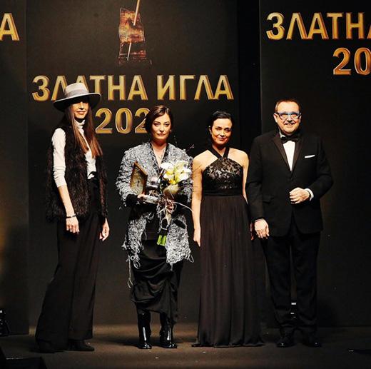 Мария Георгиева-Савова, Теодора Спасова, Мила Захариева и проф. Любомир Стойков