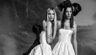 Булчинска колекция в младежки стил за есен 2020 на Вера Уанг