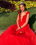Най-стилните абитуриенти 2020 - Бални рокли в червено