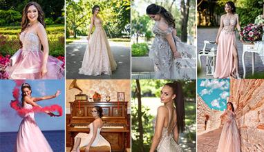 Най-стилните абитуриенти 2020 - Бални рокли в телесни нюанси