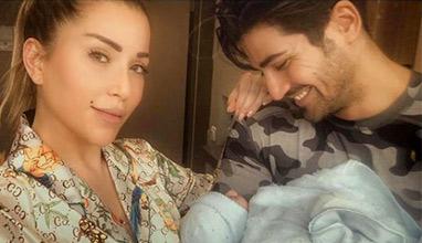 Звездната диетоложка Енджи Касабие показа бебето си