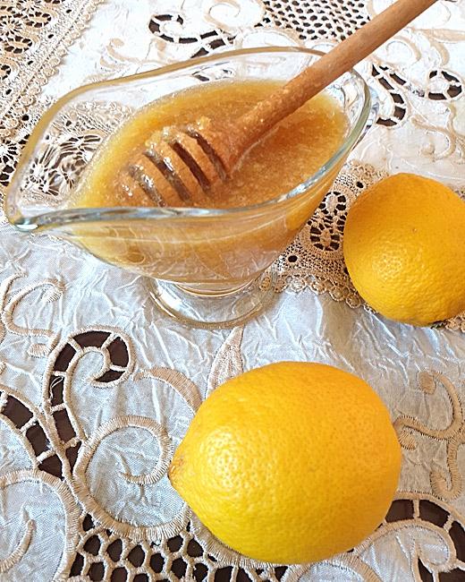 Елексир от мед, джинджифил и лимони