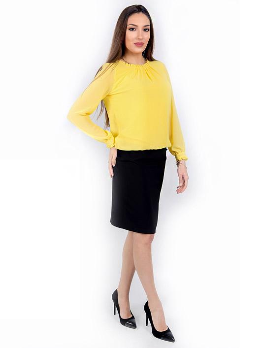 Жълта блуза