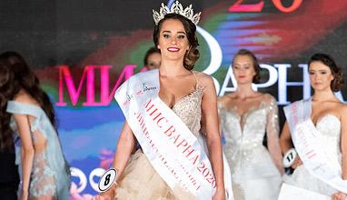 Цветелина Маркова е новата Мис Варна 2020 след бляскава церемония