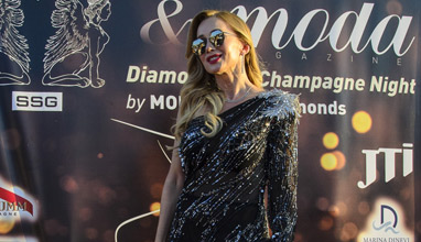 Diamond and Champagne Night постави новото начало на списание MODA