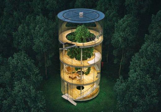 Необичайни жилища по света