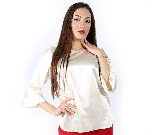 Официална блуза сатен