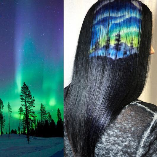 Рисувана коса