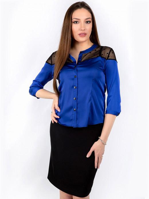 Синя риза Рени Стил