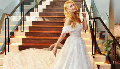 Йордана Димитрова - великолепна в тоалети от Bridal Fashion