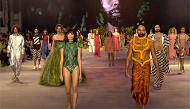 Местният дизайн в светлините на прожекторите по време на Австралийската седмица на модата