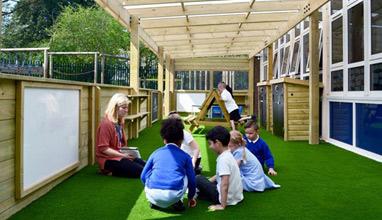 Мая Бежанска и проектът Зелена класна стая