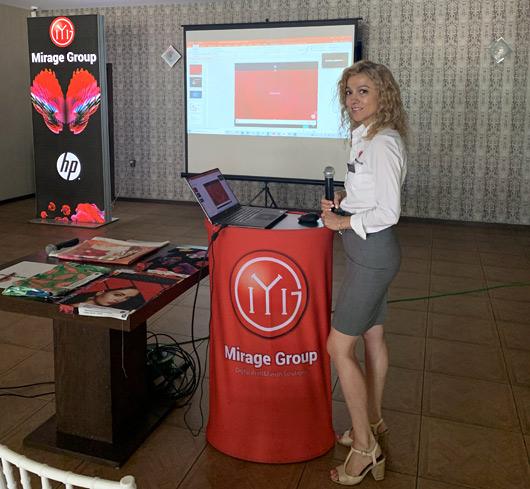 Дигитален печат чрез сюблимация беше представен в Русе
