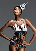 Triumph Inspiration Award '09 shooting with top model Jourdan Dunn and fashion photographer Giovanni Gastel