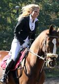 Катя Дунева открива с езда здравословния сезон в Банско