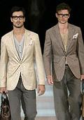 Giorgio Armani and Dolce&Gabbana open Milan menswear