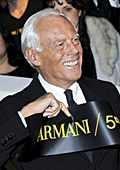 Армани събра куп звезди за откриването на нов магазин