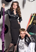 Virginia Zdravkova and Miro first in the project Fashion Love Music