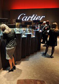 Cartier opened an exhibition in China