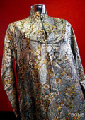 A suit from the most expensive luxury wool sold for £70,000