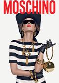 Алесандра Амброзио - рекламно лице на Moschino