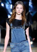 Move over skinny jeans, denim goes wide for spring