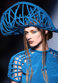 Jean Paul Gaultier presented his Spring/Summer 2010 Haute Couture collection in Paris