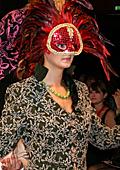 Елена Манева-Василев за участието на Маркам фешън в шоуто в казино Баден, Австрия
