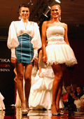 Sofia Borisova presented collection LUXUS COUTURE 2010