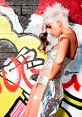 "Photo collection of Stephan ""Graffiti"" 2010 shows a complete fashion look"