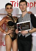 "Николай Божилов е българският победител в дизайнерския конкурс ""Triumph Inspiration Award"" 2010"