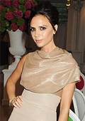 Victoria Beckham with nomination on British Fashion Awards