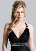 New collections of prom and formal dresses from leading American fashion houses