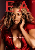 Beyonce promotes new fragrance