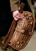 Stylish alligator handbag from Burberry