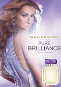 Celine Dion has unveiled her latest fragrance, Pure Brilliance