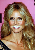 Heidi Klum has launched her debut fashion collection in New York.