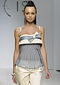 Ukrainian fashion week. Liudmila Kislenko spring - summer 2010