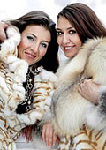 Sheepskin is in fashion this winter