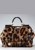 A Chic by Dolce & Gabbana in Leopard Print