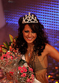 Miss Bulgaria 2010 is a charming brunette