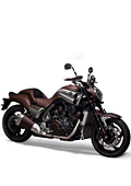 Стилен мотоциклет от Yamaha и Hermes