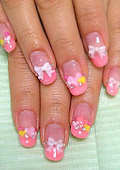 Kawaii nail art from Japan