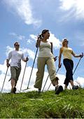 Новата фитнес мода - скандинавско ходене