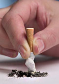 Отказването на цигарите подобрява настроението