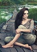 Анджелина Джоли с фотосесия за Луи Вюитон