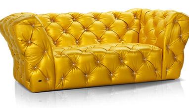 Luxury flamboyant Swarovski furniture collection from Bretz